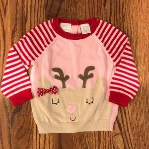 Koala Kids Reindeer Christmas Sweater 9-12 Months